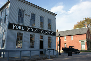 Replica of Henry Ford's first factory