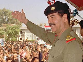 Nasty old Saddam